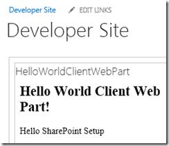 AppClientWebPartWithJavaScript