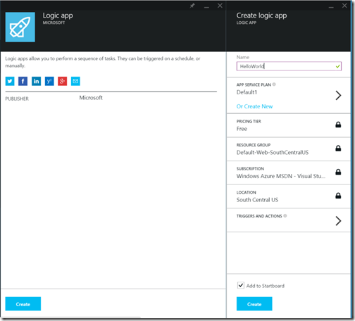 AzureLogicAppNewWithSettings
