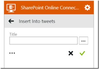AzureLogicAppSharePointConnectorInsertItem