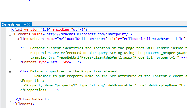 How to: Build a SharePoint-hosted Client Web Part in