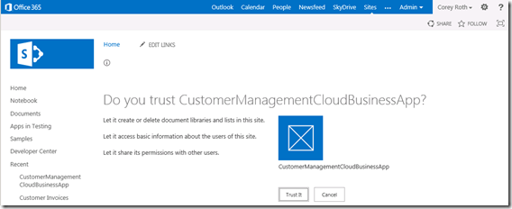 CloudBusinessAppTrustWarning