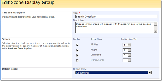 EnterpriseSearchScopeDisplayGroup