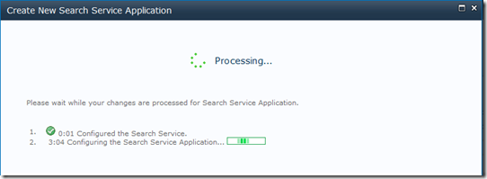 NewSearchServiceApplicationProgress
