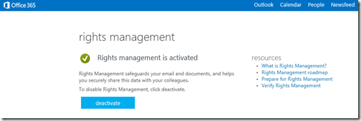 Office365RightsManagementActivated