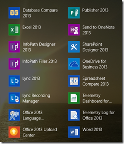 Office365StartScreenWithOneDriveForBusiness