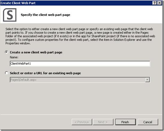 P2ClientWebPartCreatePage