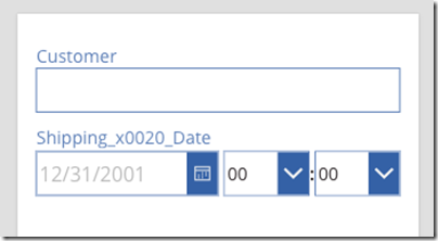 How to: Default a date field to today's date in PowerApps