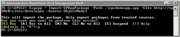 PowerShellAppImportSPAppPackage