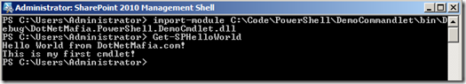 PowerShellCmdletHelloWorld