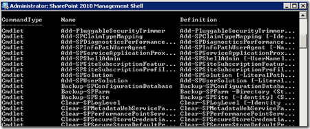 PowerShellGetCommand