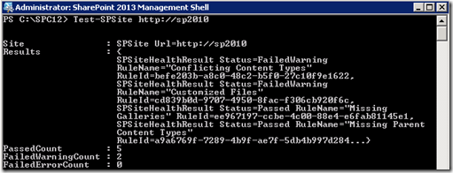 PowerShellTestSPSite
