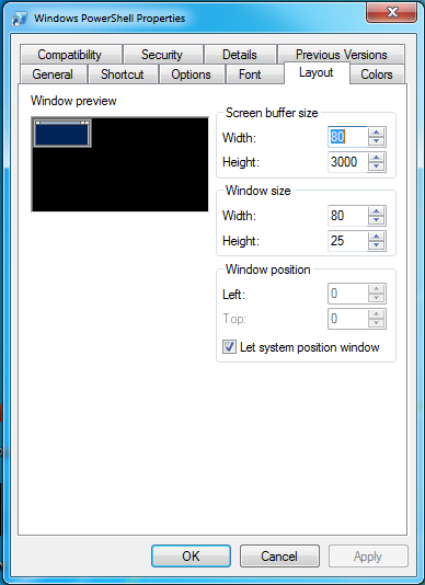 How to adjust the file buffer size freedomletitbit for Show buffer pool size