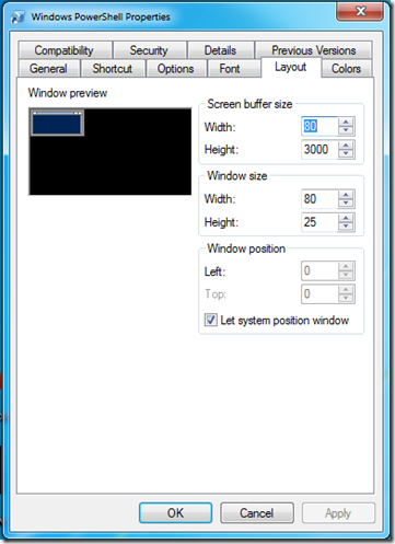 PowerShellWindows7LayoutModified