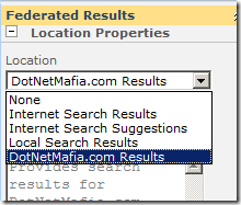 SearchFederatedResultsWebPartProperties