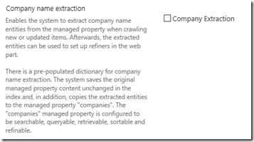SearchManagedPropertiesCompanyExtraction
