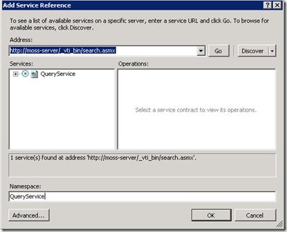 SilverlightSearchWebService
