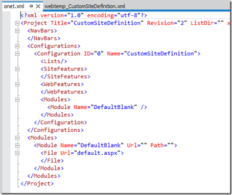 VS11SiteDefinitionOnetXml
