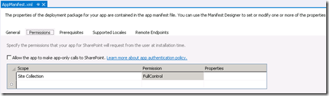VS2012SearchConfigurationAppManifestPermissions