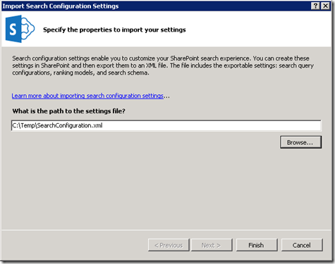 VS2012SearchConfigurationImportSettings