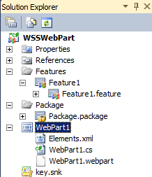 Using Visual Studio 2010 SharePoint Templates to deploy a web part