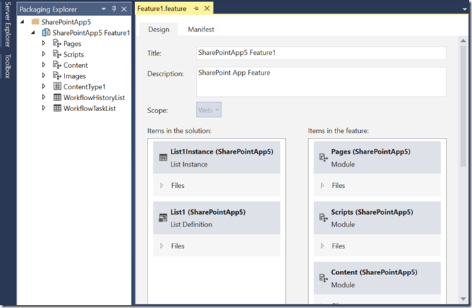 VisualStudio2013FeatureManager