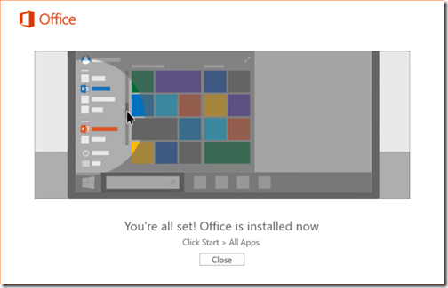 W10B10162Office365Install2016Complete