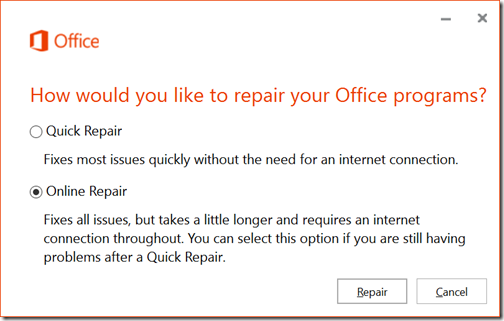 W10B10162Office365OnlineRepair
