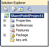 WebPartIntroSolutionExplorer