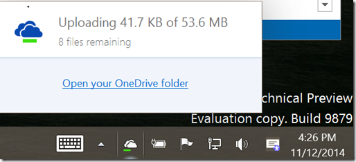 Windows10U2OneDriveInAction