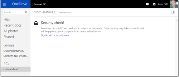 Windows10U2OneDrivePCFilesSecurityCheck