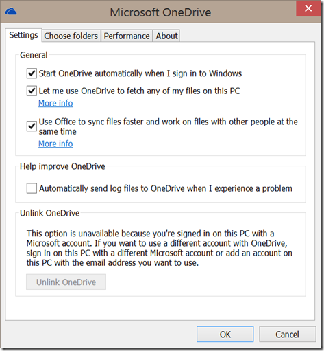 Windows10U2OneDriveSettings