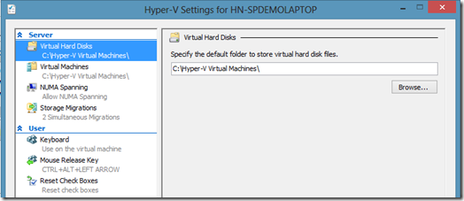 Windows8HyperVSettings
